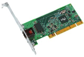 Ethernet Card Intel Pro/1000 GT Desktop, PCI, Single Port Framegrabbers and Cards Accessory