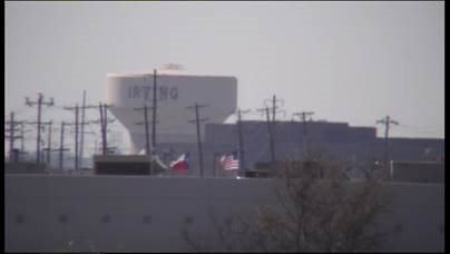IV-75X-EH6500: Mid zoom, Irving, TX Water Tower Distance Test